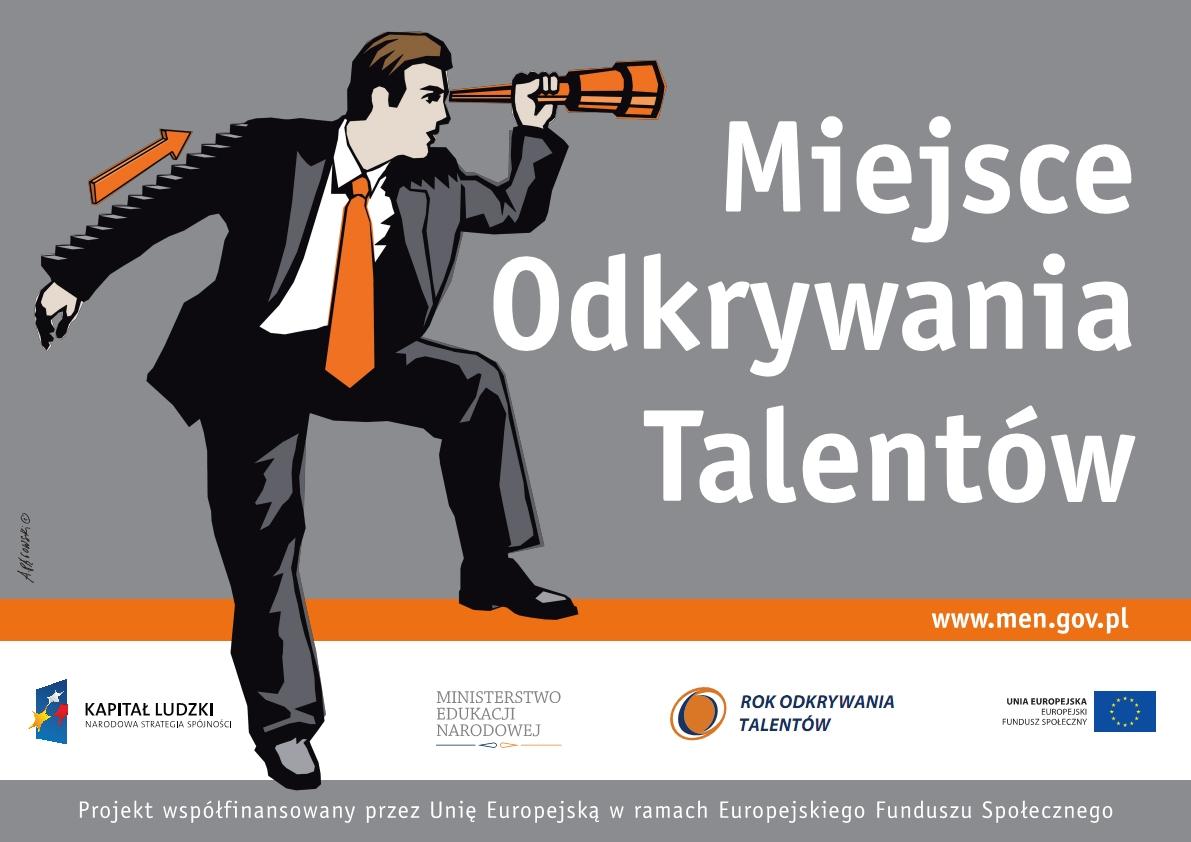 Banner miejsce odkrywania talentów