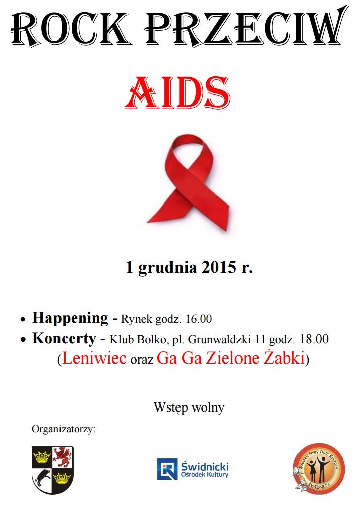 ROCK PRZECIW AIDS – ZAPRASZAMY