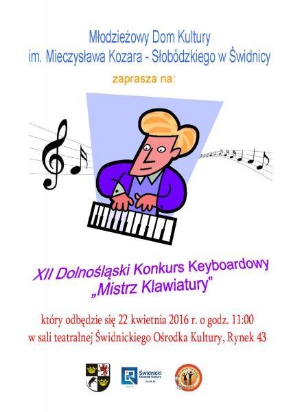 """XII Wojewódzki Konkurs Keyboardowy """"Mistrz Klawiatury"""""""