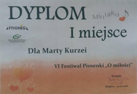 Sukces Marty Kurzeji
