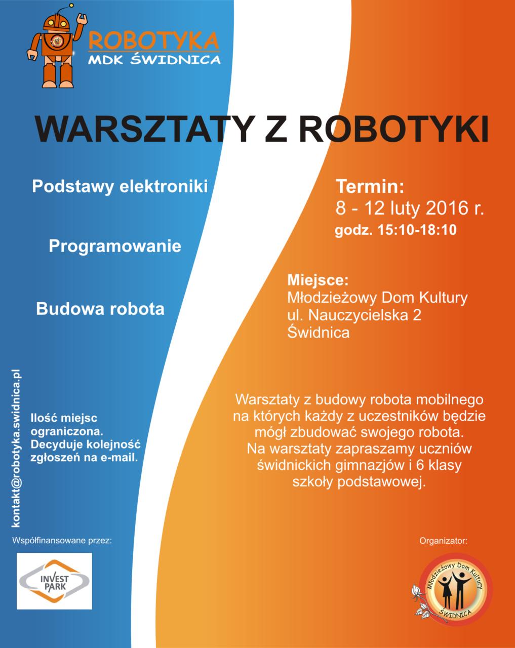 Warsztaty robotyki w ferie