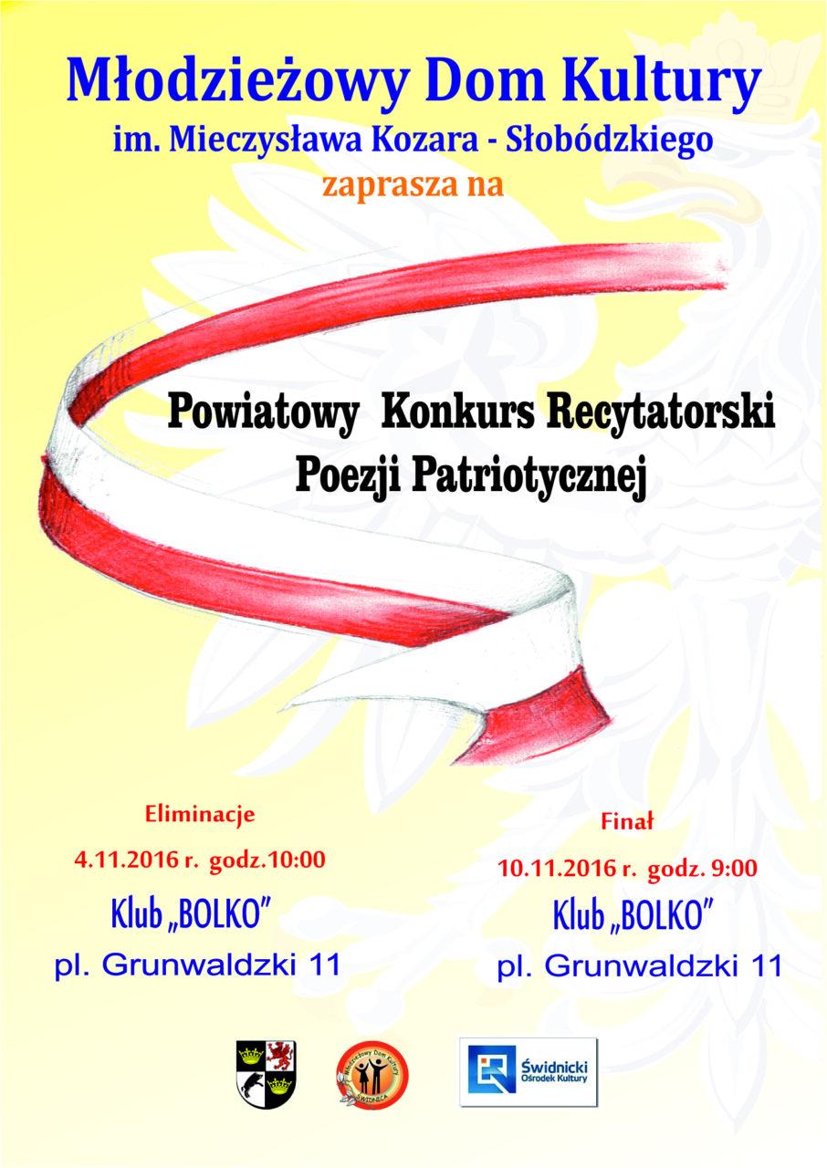 Powiatowy Konkurs Poezji Patriotycznej