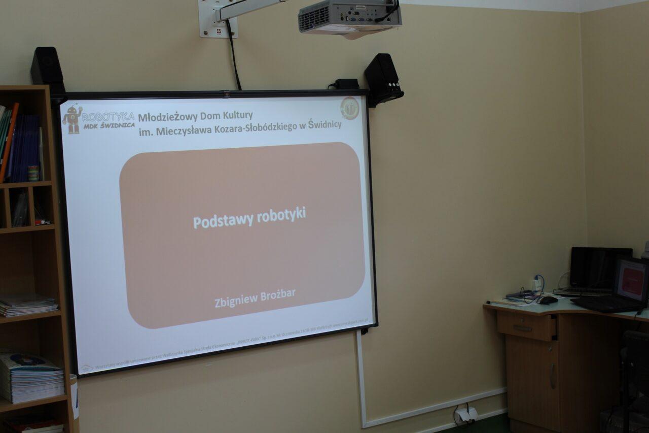 Koło Robotyki poza murami MDK Świdnica