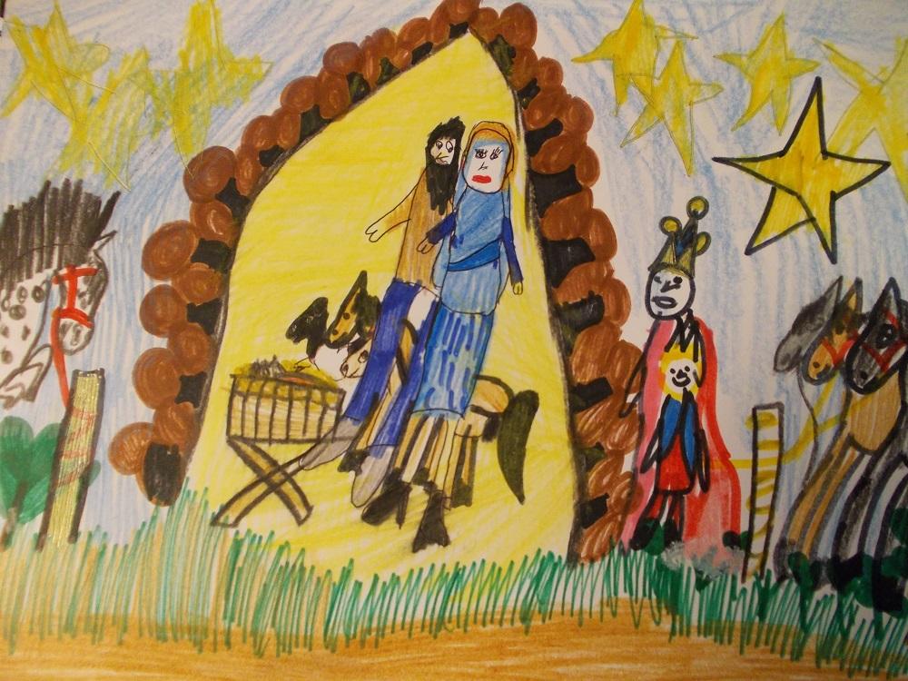Świąteczne kartki Martyny i Wiktorii !