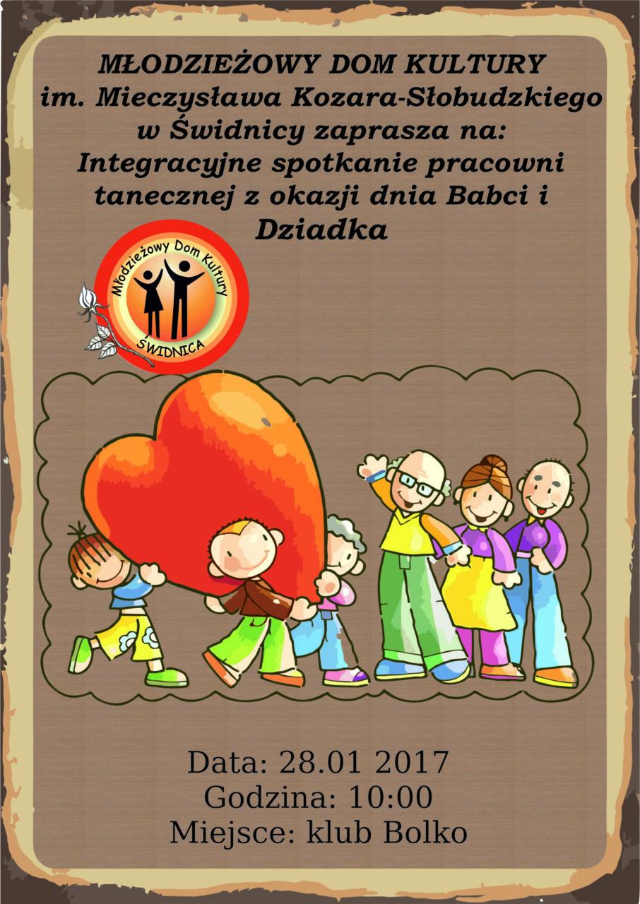 Integracyjne Spotkanie Pracowni Tanecznych z okazji dnia Babci i Dziadka [AKTUALIZACJA]