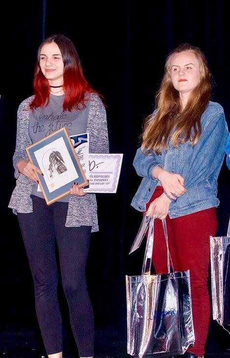 Wyśpiewały nagrody na Ogólnopolskim Konkursie