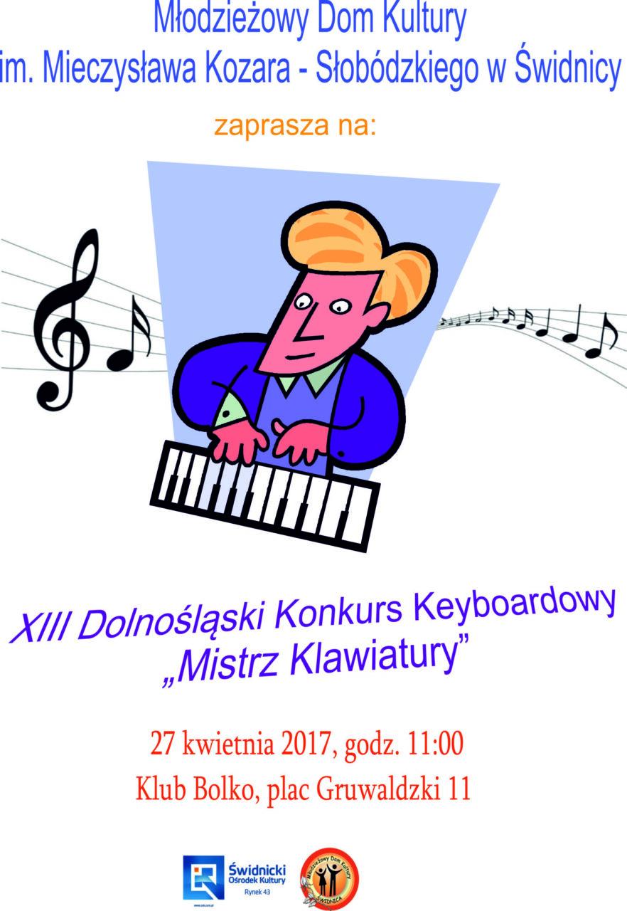 """XIII Dolnośląski Konkurs Keyboardowy """"Mistrz Klawiatury"""""""