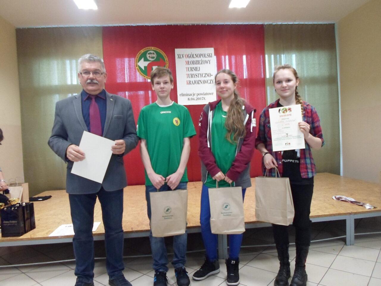 XLV Ogólnopolski Młodzieżowy Turniej Turystyczno – Krajoznawczy