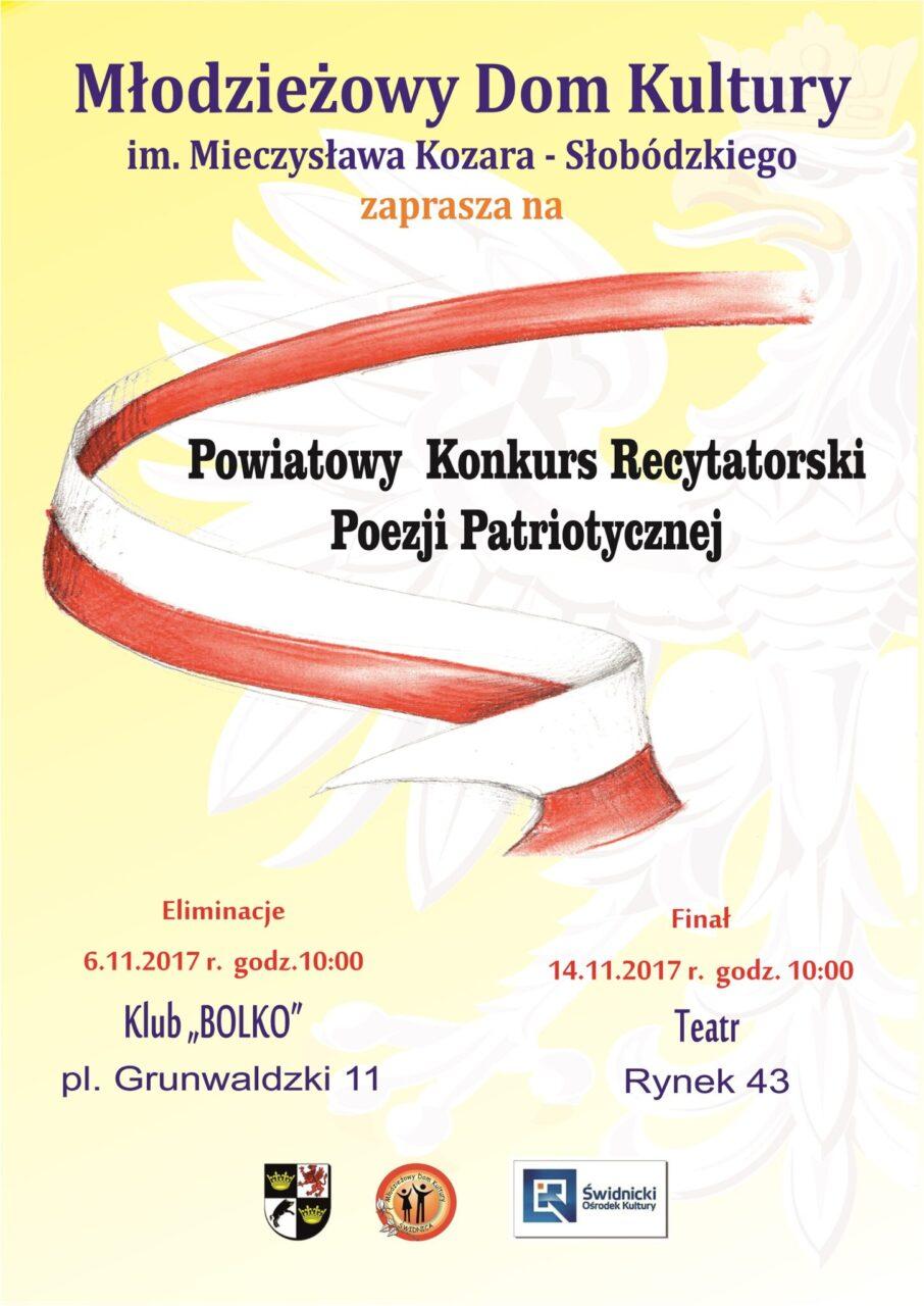 Powiatowy Konkurs Recytatorski Poezji Patriotycznej