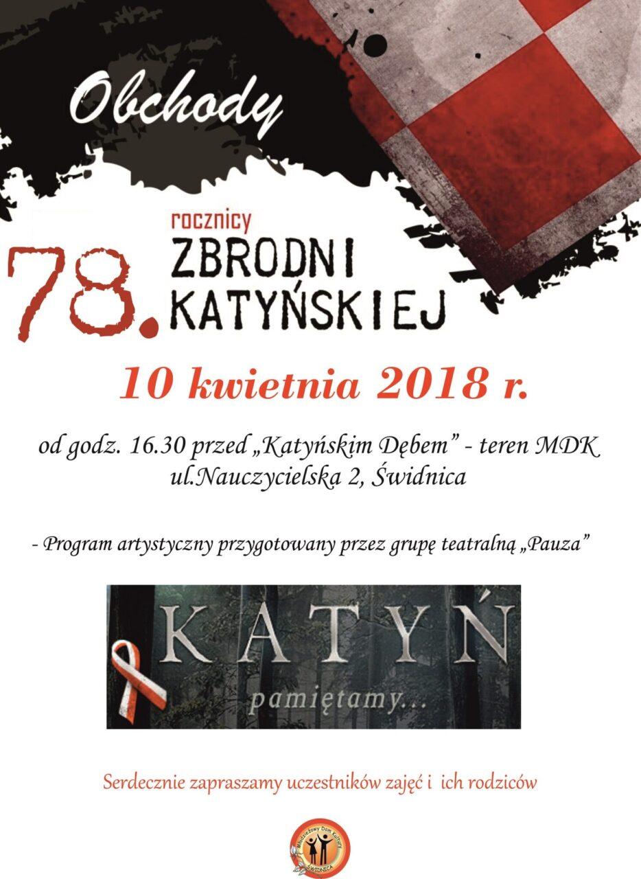 78 rocznica zbrodni katyńskiej