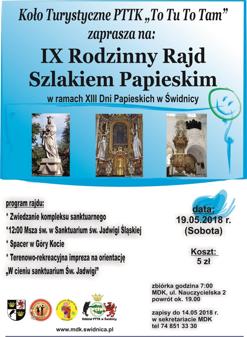 IX Rodzinny Rajd Szklakiem Papieskim