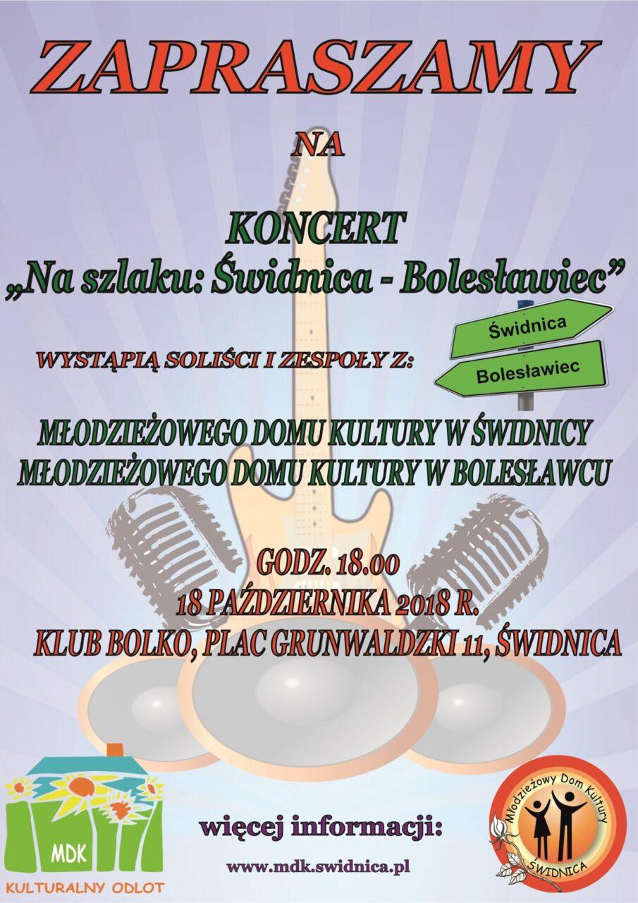 """Koncert """"Na szlaku: Świdnica – Bolesławiec"""""""