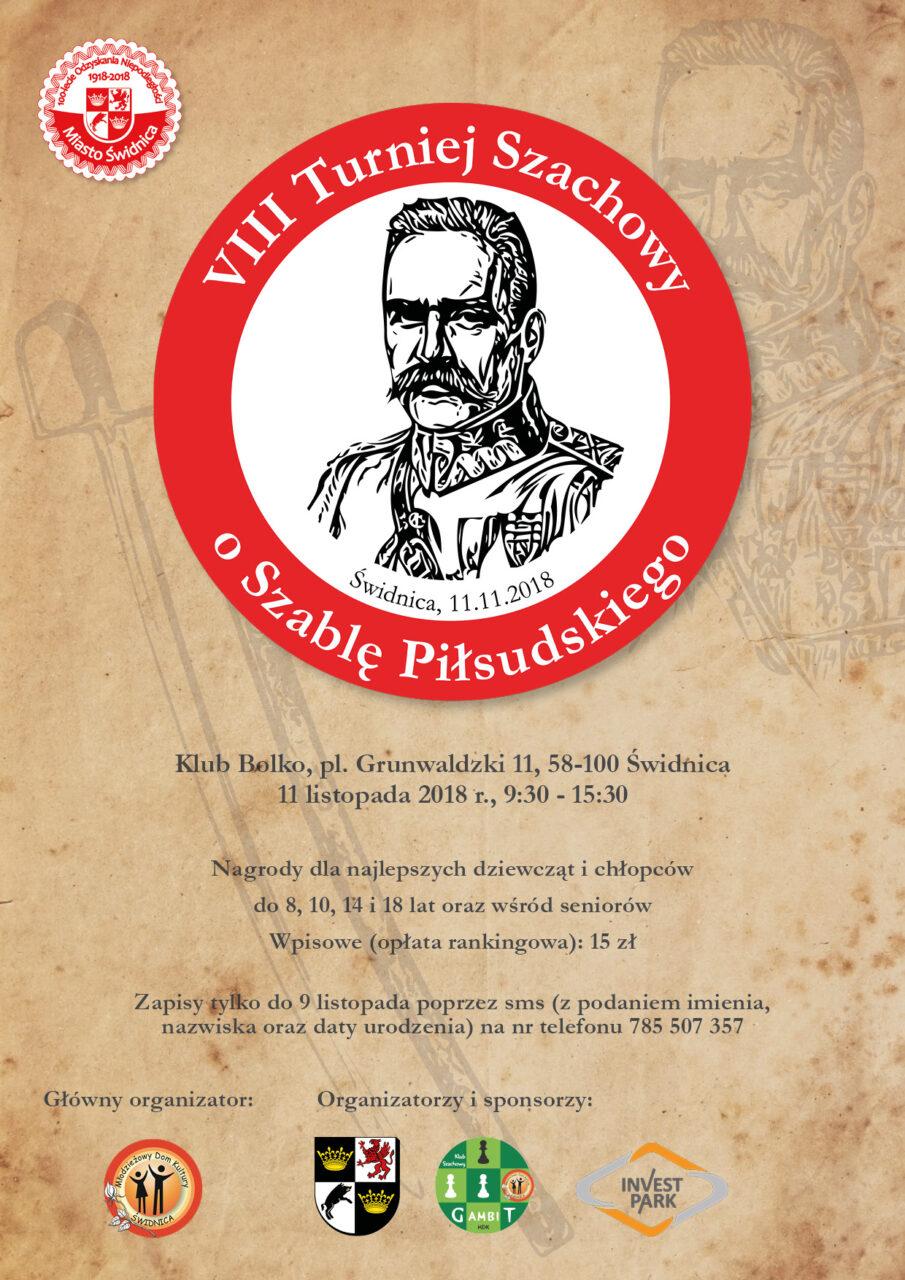VIII Turniej Szachowy o Szablę Piłsudskiego