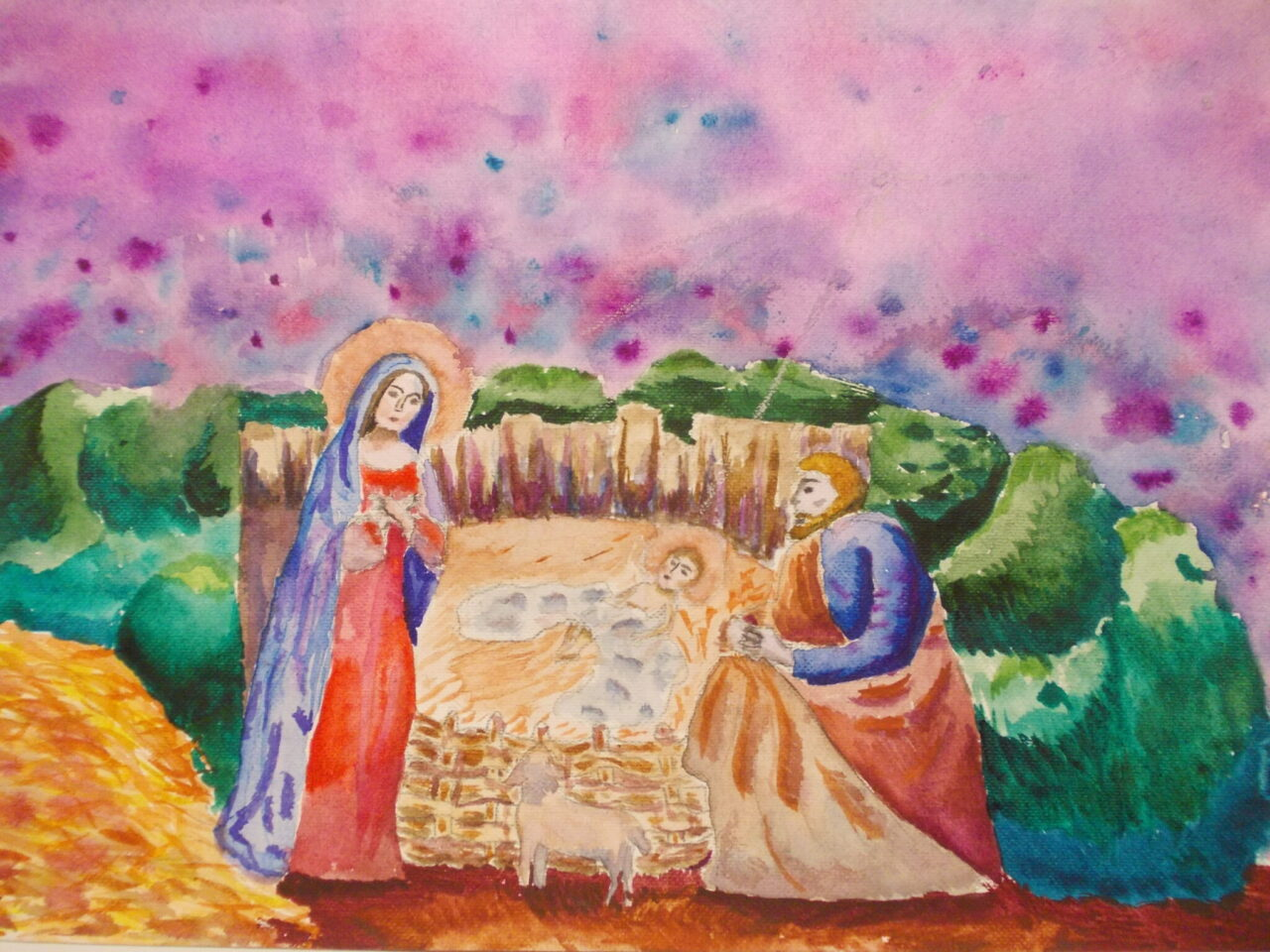 Kartka Świąteczna, Boże Narodzenie , Nowy Rok - protokół