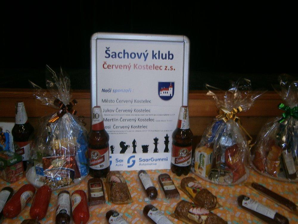 Bożonarodzeniowy Turniej Szachowy – Cerveny Kostelec