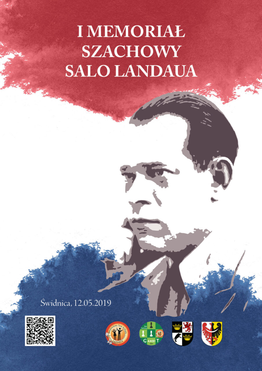 I Memoriał Szachowy Salo Landaua plakat