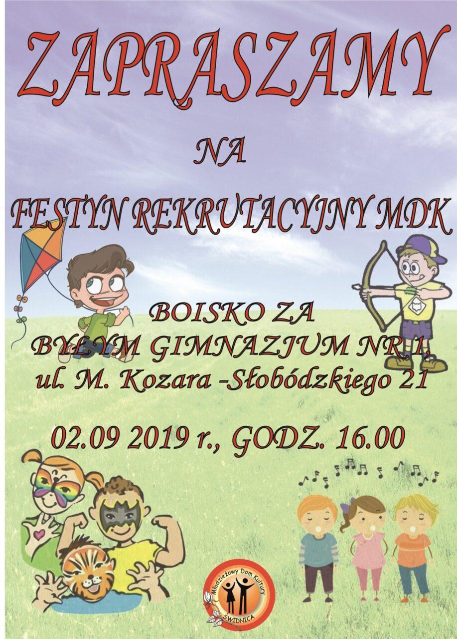 Festyn Rekrutacyjny MDK