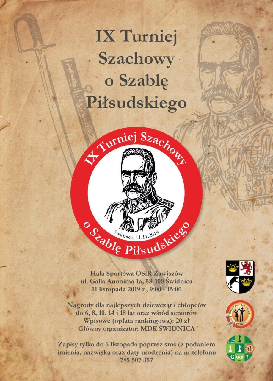 IX Turniej Szachowy o Szablę Piłsudskiego