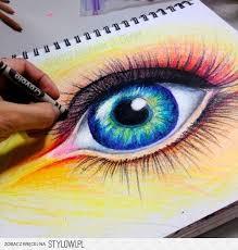 Ćwiczenie portretowe- oko