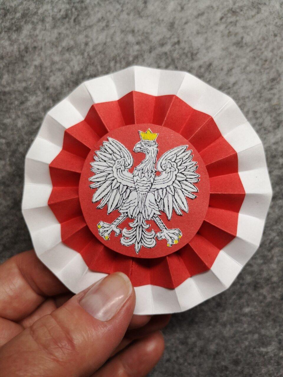 Jak zrobić kokardę narodową cz. IV