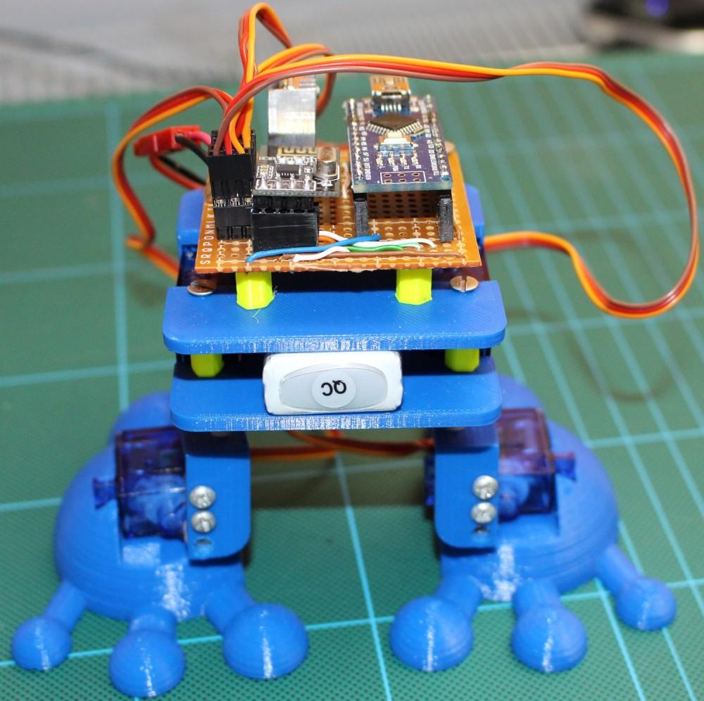 Budujemy robota żabę v3.0