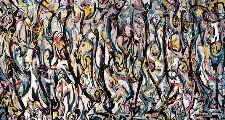 Zrozumieć sztukę – action painting czyli malarstwo gestu Jacksona Pollocka