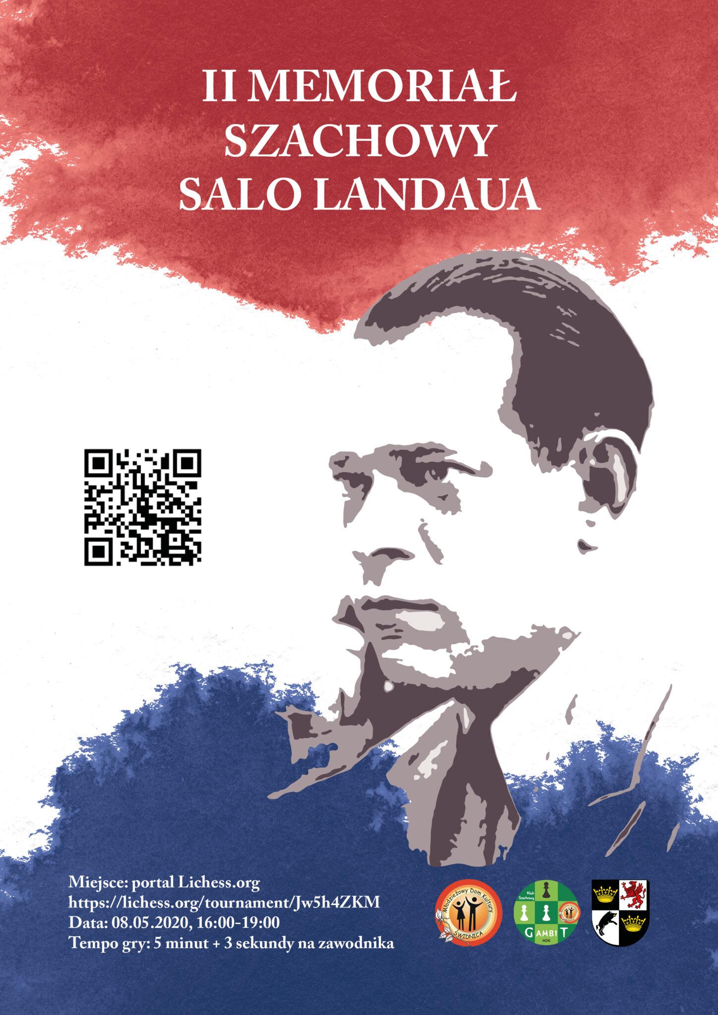 II Memoriał Szachowy Salo Landaua, 08.05.2020