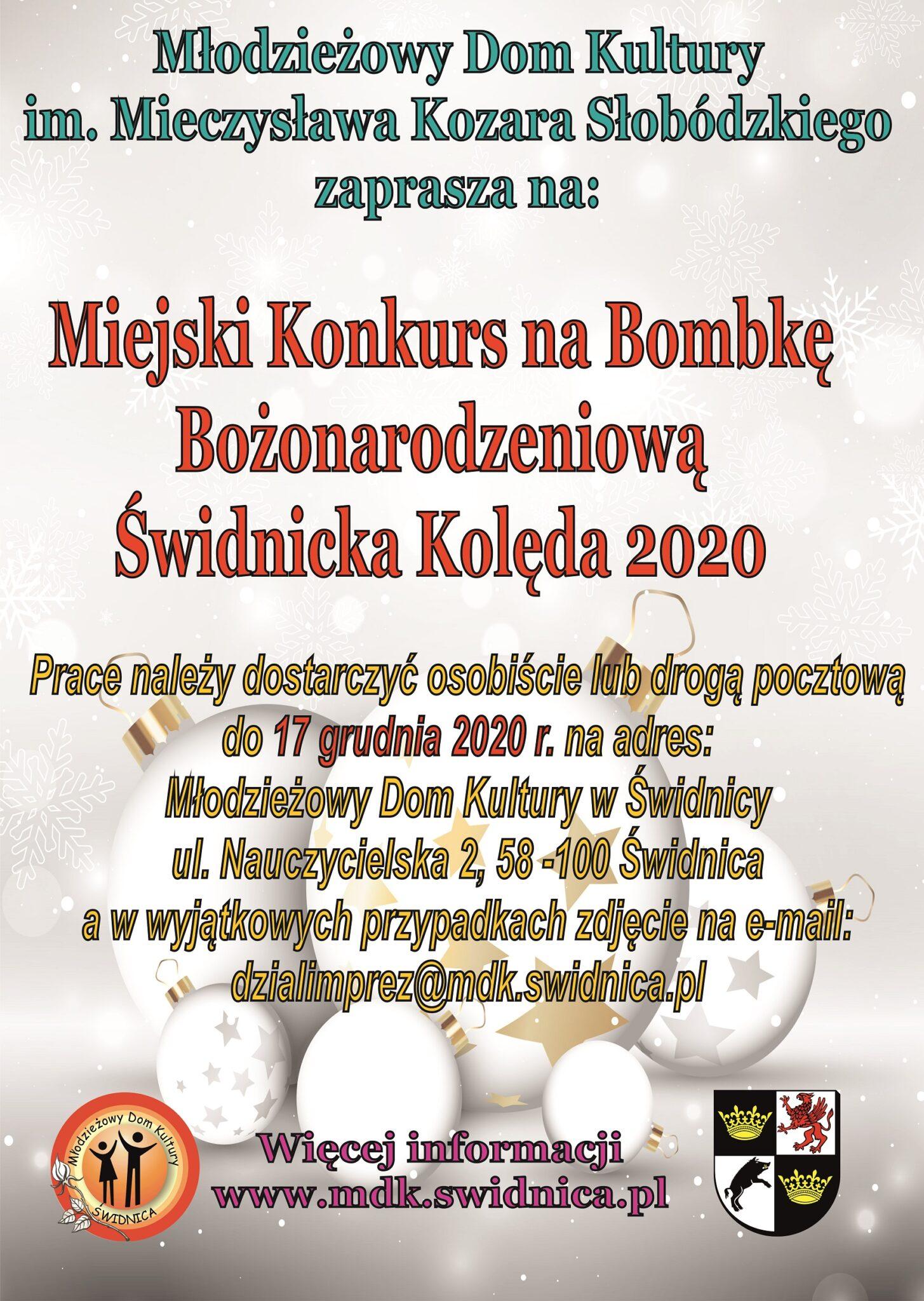 Miejski Konkurs na Bombkę Bożonarodzeniową