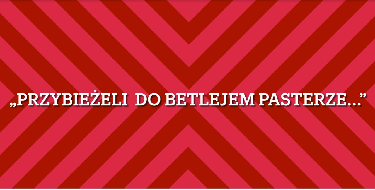 """""""Przybieżeli do Betlejem Pasterze"""" w wykonaniu uczestników zajęć MDK"""
