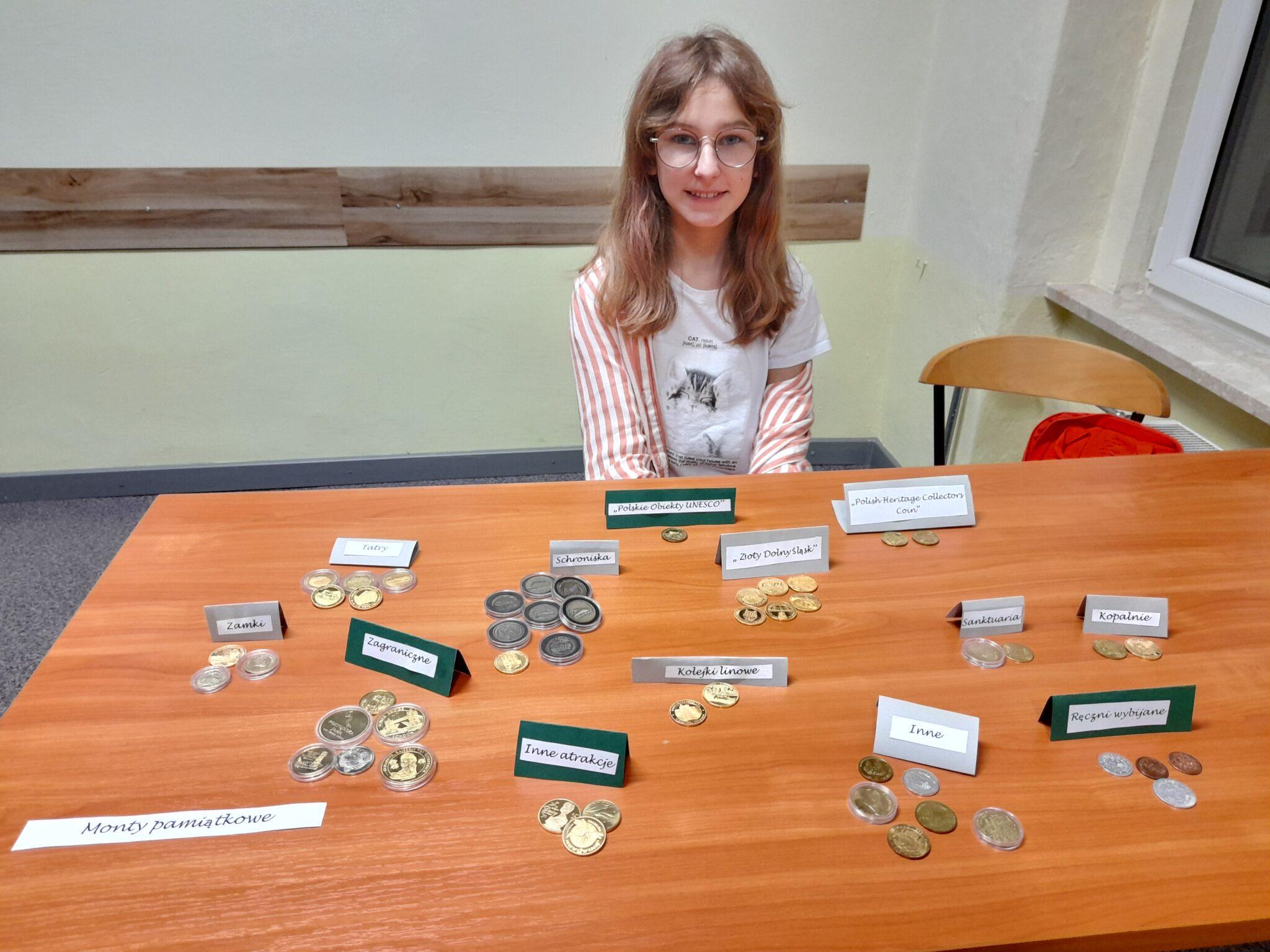 Kolekcja monet turystycznych Hani