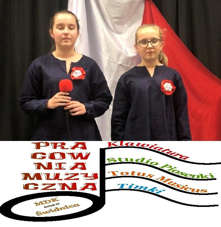 Łucja i Lena laureatkami XIV Dolnośląskiego Przeglądu Piosenki i Pieśni Patriotycznej